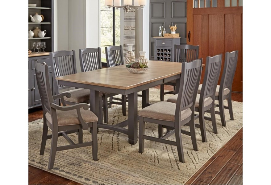 Port Townsend 9 Pc Table Set