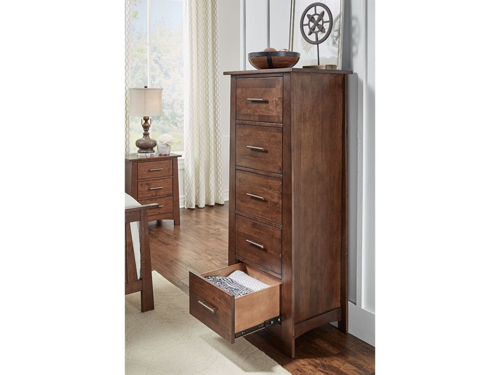 AAmerica SodoFive Drawer Lingerie Chest