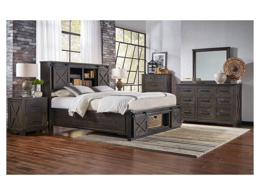 AAmerica Sun ValleyKing Bedroom Group