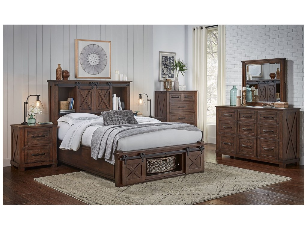 AAmerica Sun ValleyCalifornia King Bedroom Group
