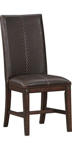 AAmerica Sundance Upholstered Parson Side Chair