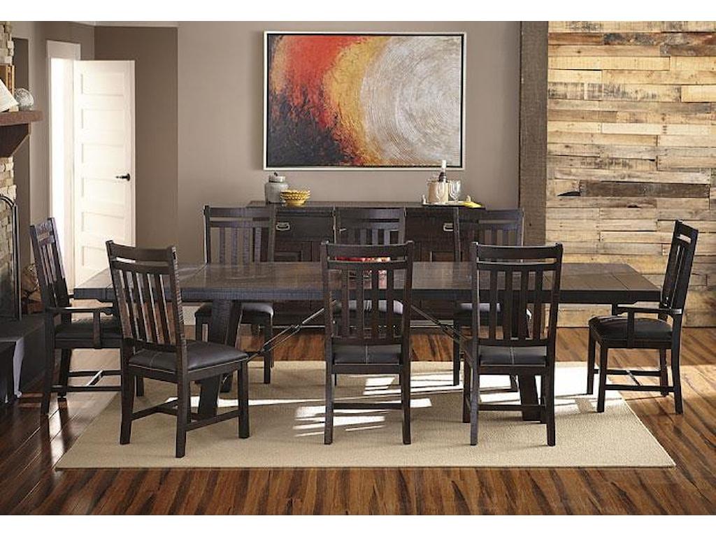 AAmerica SundanceRectangle Trestle Dining Table