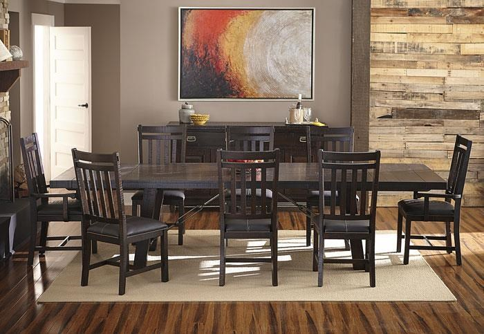 AAmerica SundanceRectangle Trestle Dining Table