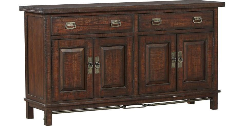 Sundance 4 Door Dining Buffet With Removable Wine Rack By AAmerica