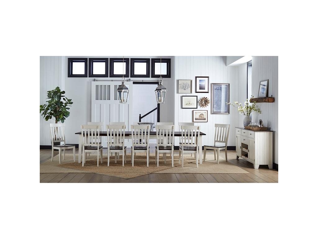 AAmerica TolucaSlat-Back Side Chair