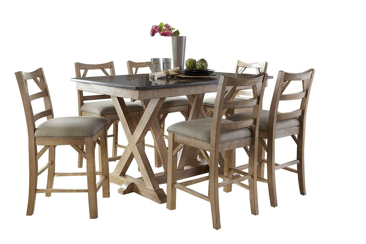 manassas 7piece dining set rubygordon furniture u0026 mattresses dining 7 or more piece sets