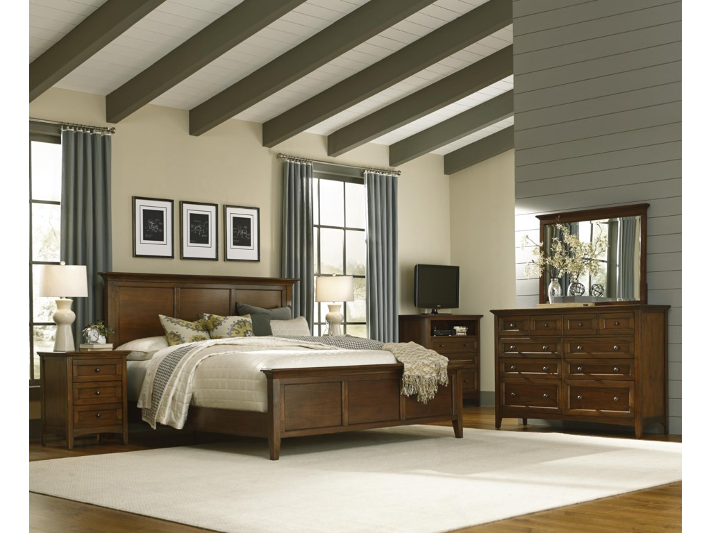 AAmerica WestlakeQueen Panel Bed