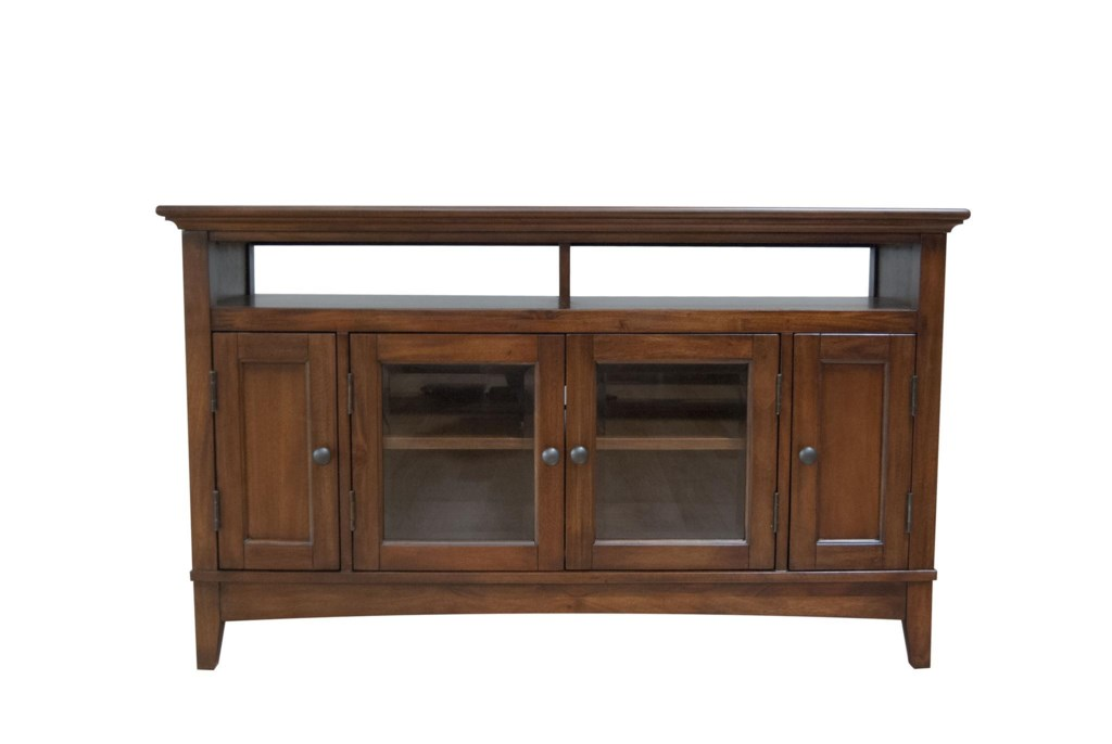 Aamerica Westlake 52 Inch Wide Tv Console With Door Cabinets