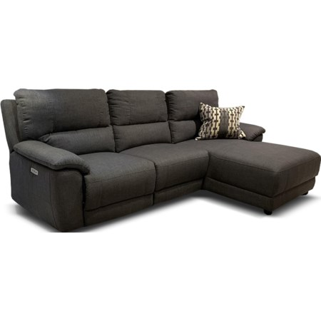 Cullen Power Sofa Chaise