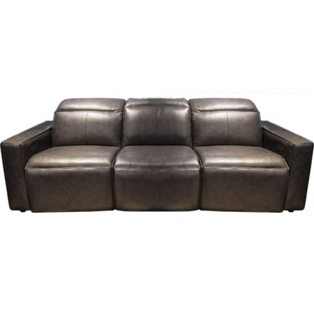 Mylie Power Leather Match Sofa