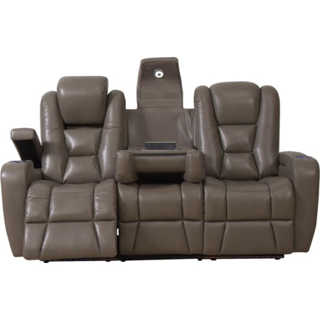 Thaddeus Power Reclining Sofa