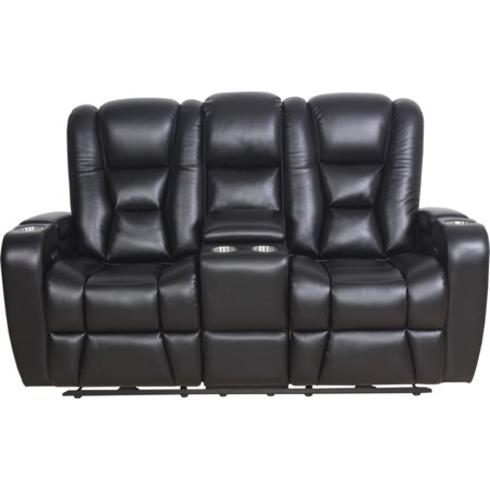 Thaddeus Power Loveseat with Power Headrest