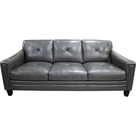 Wren Leather Match Sofa