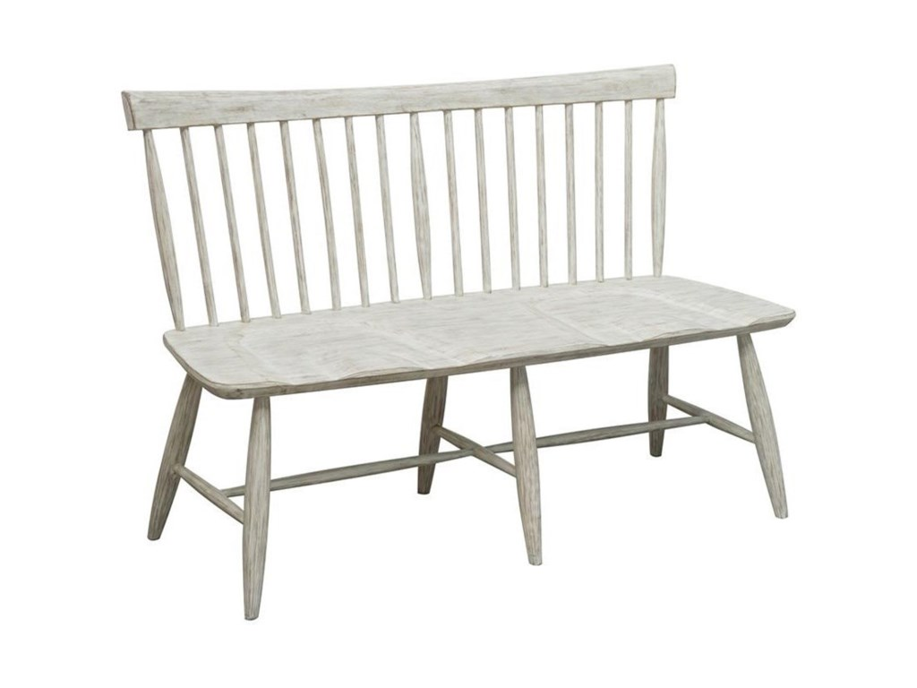 Accentrics Home A797 Motion UphSlat Back Dining Bench