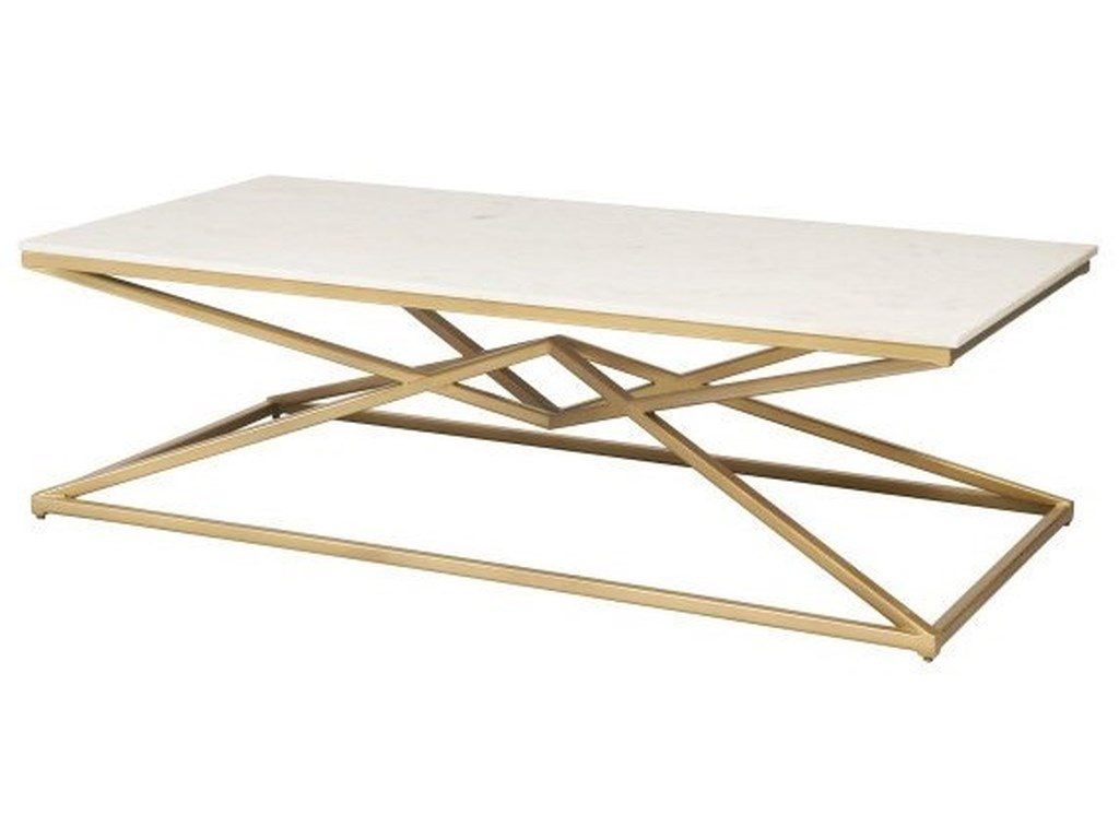 Accentrics Home Accent TablesPyramid Cocktail Table