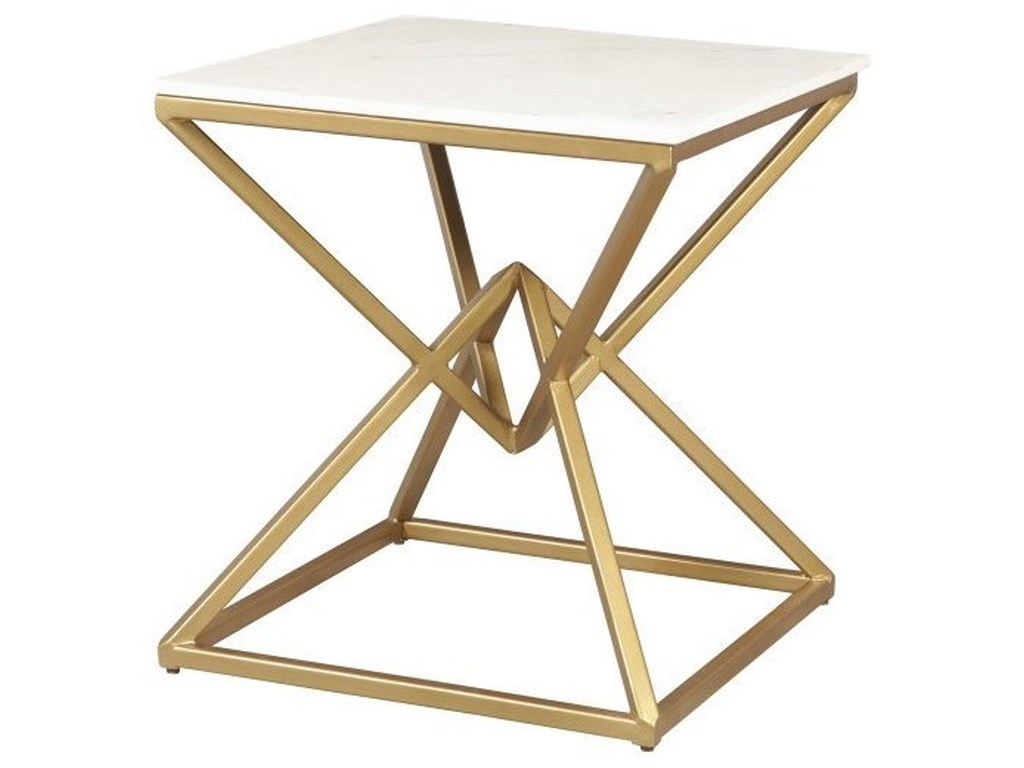 Accentrics Home Accent TablesPyramid End Table