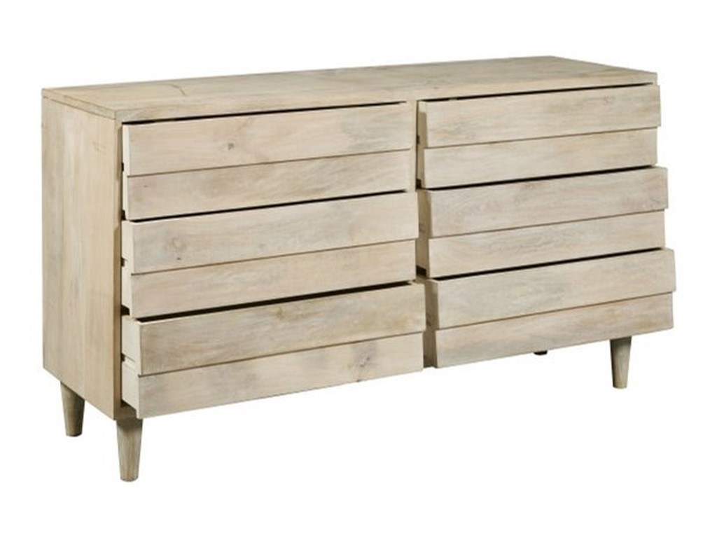 Accentrics Home Dropship Bedroom6-Drawer Reclaimed Dresser