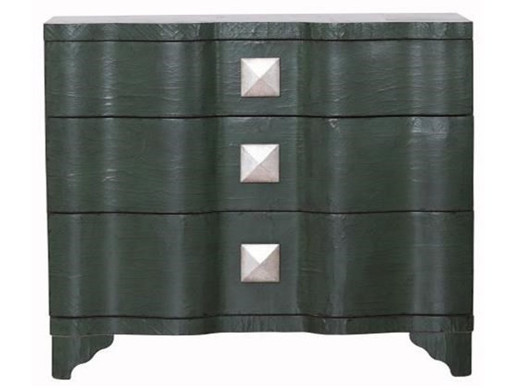 Pulaski Accentrics Home Chests and CabinetsEmerald 3 Drawer Chest