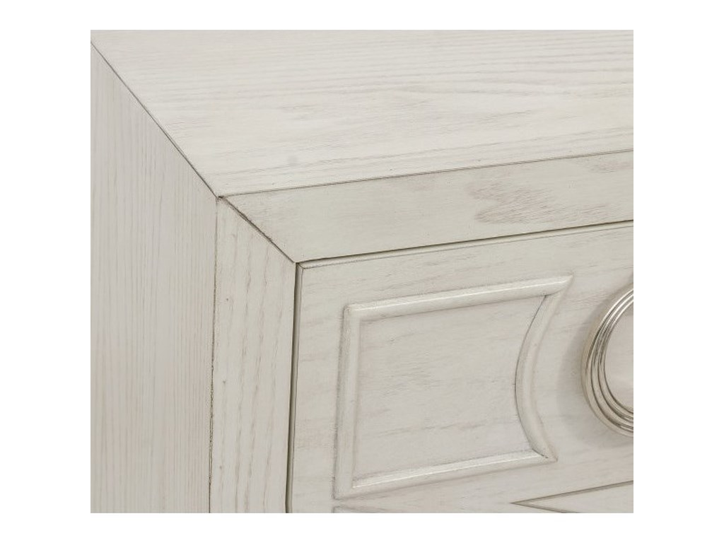 Accentrics Home Chests and CabinetsWhite Accent Nightstand