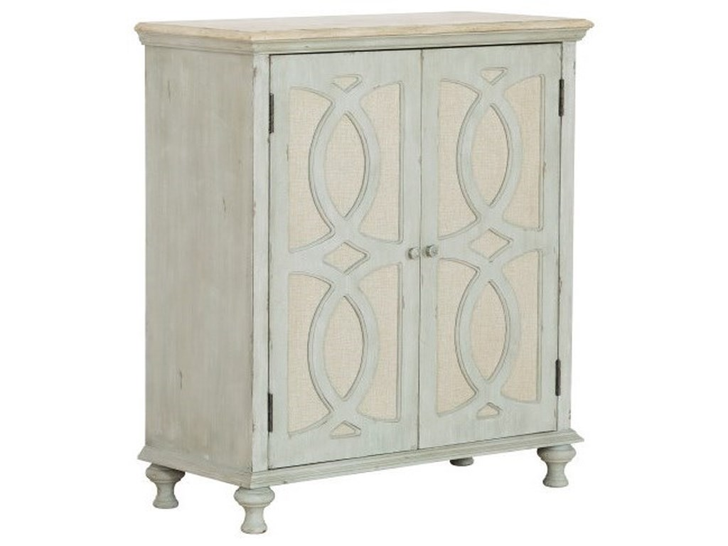 Accentrics Home Chests and Cabinets2-Door Fabric Accent Chest