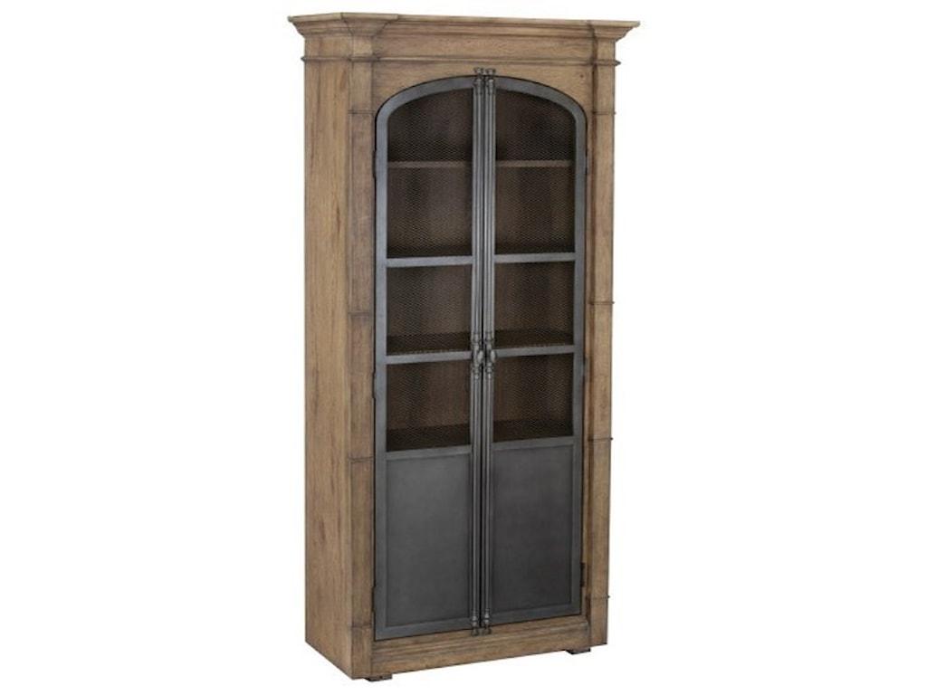 Metal Door Light Oak Display