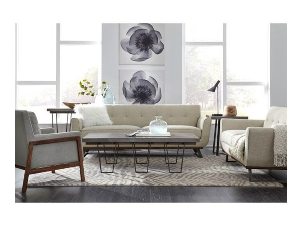 Pulaski Accentrics Home Modern AuthenticsGrey Wash Coffee Table