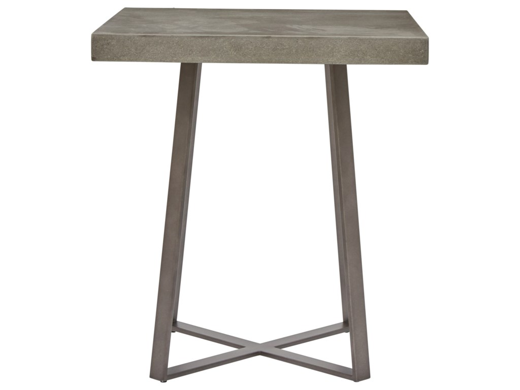 Pulaski Accentrics Home Modern AuthenticsGrey Wash End Table