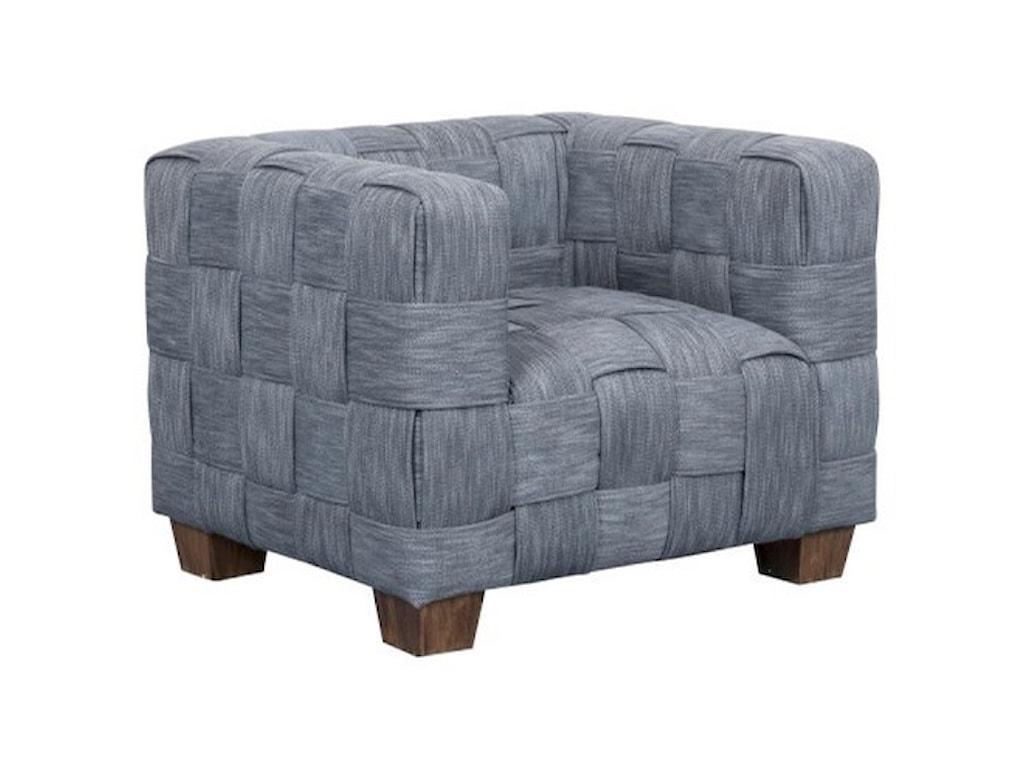 Pulaski Accentrics Home Modern AuthenticsWoven Accent Chair