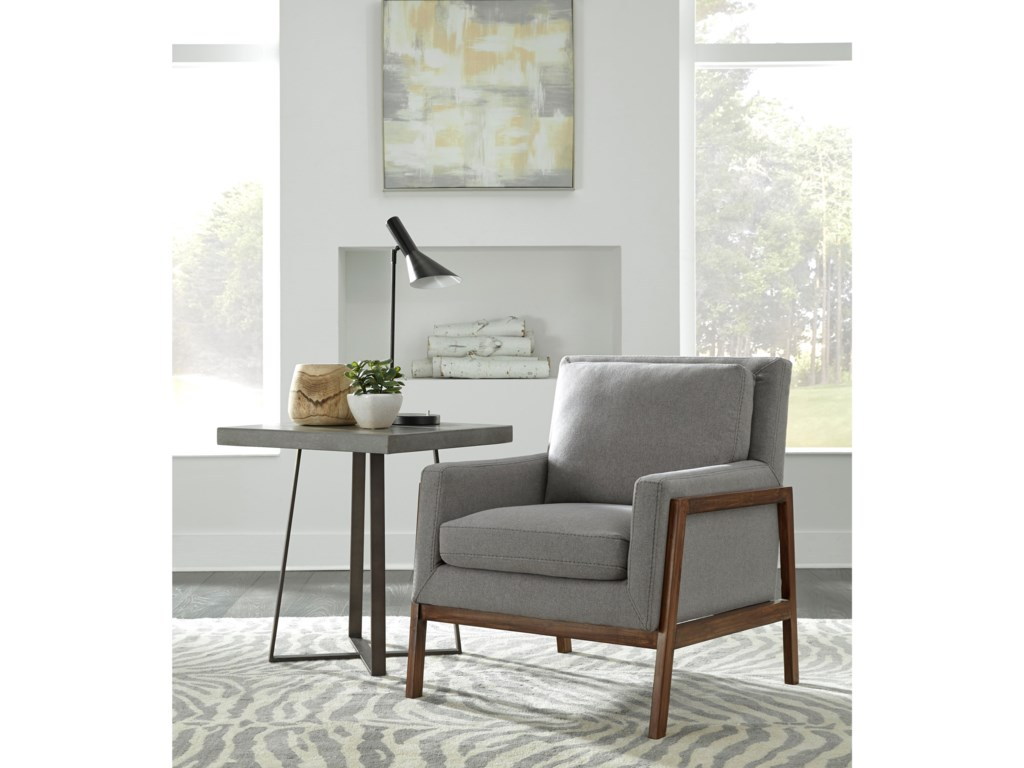 Pulaski Accentrics Home Urban EclecticWood Frame Accent Chair