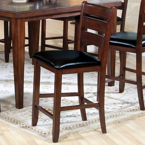 Acme Furniture 00680 Counter Chair with Upholstered Seat