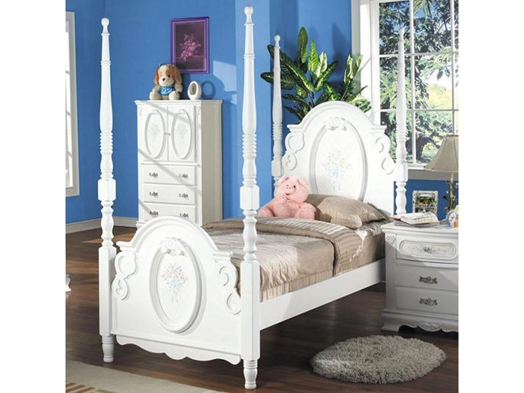 Acme Furniture 01660Full Poster Bed