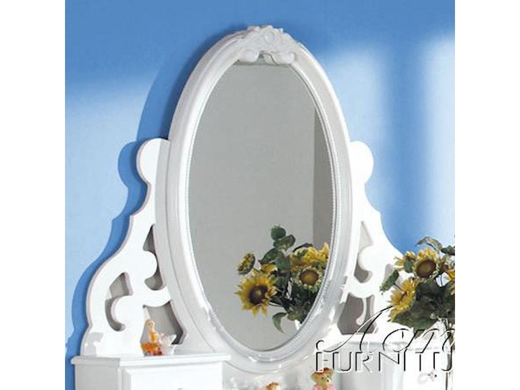 Acme Furniture FloraJewelry Mirror