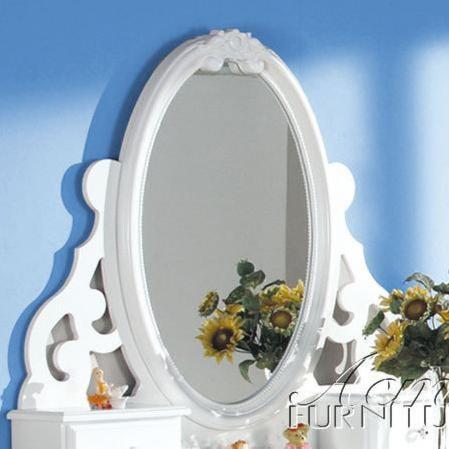 Acme Furniture 01660 Dresser Oval Mirror