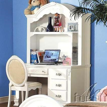 Acme Furniture 01660 Pedestal Desk w/ Hutch