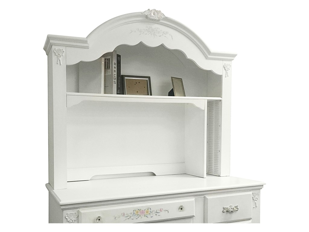 Acme Furniture FloraComputer Hutch