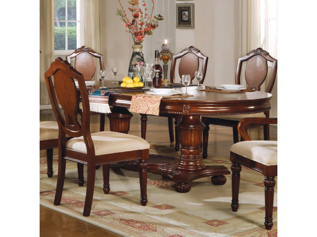 Del Sol AF 11800Double Pedestal Table