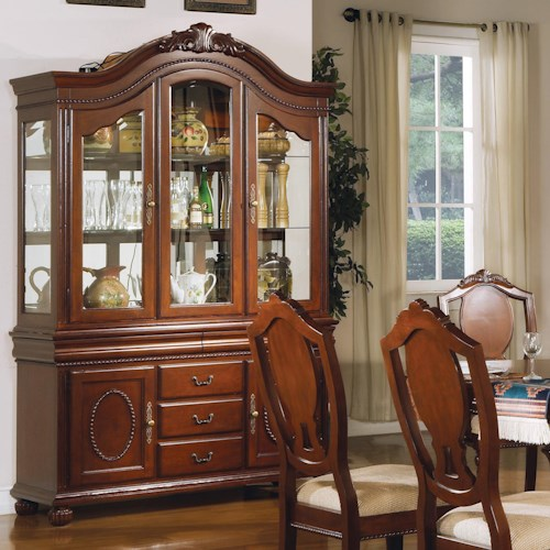 Acme Furniture 11800 Traditional Buffet and Hutch