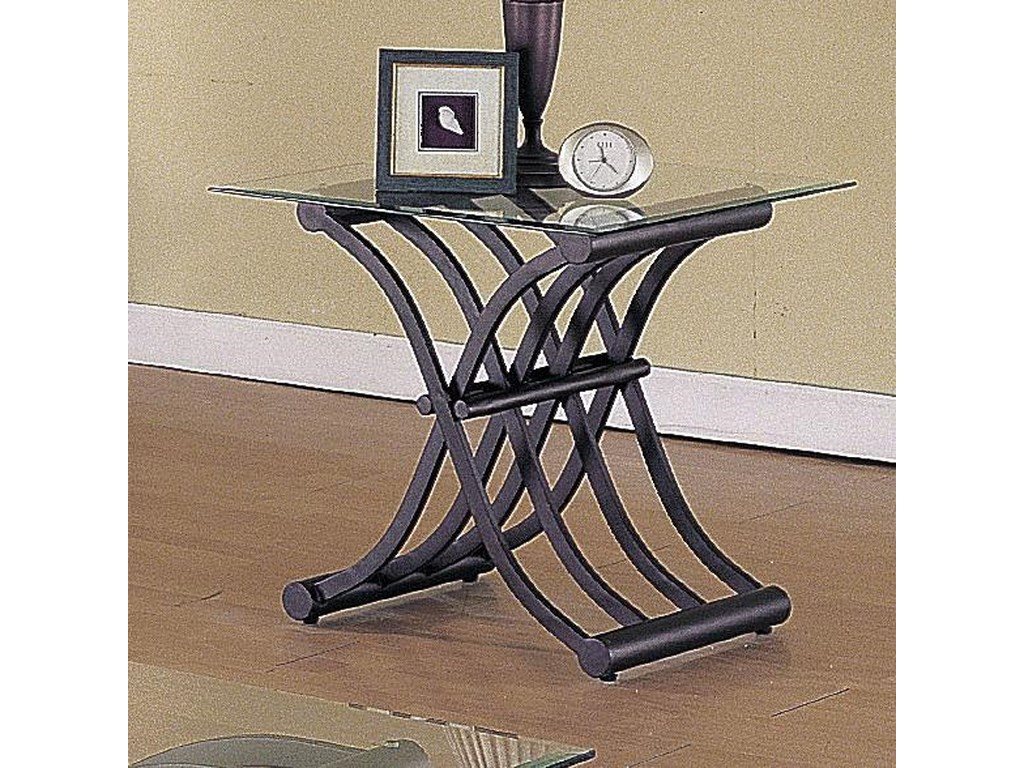 Del Sol AF 2708Wave 3 Piece Coffee/End Table Set