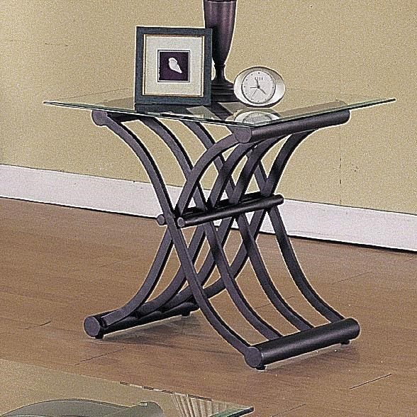 Acme Furniture 2708Wave 3 Piece Coffee/End Table Set