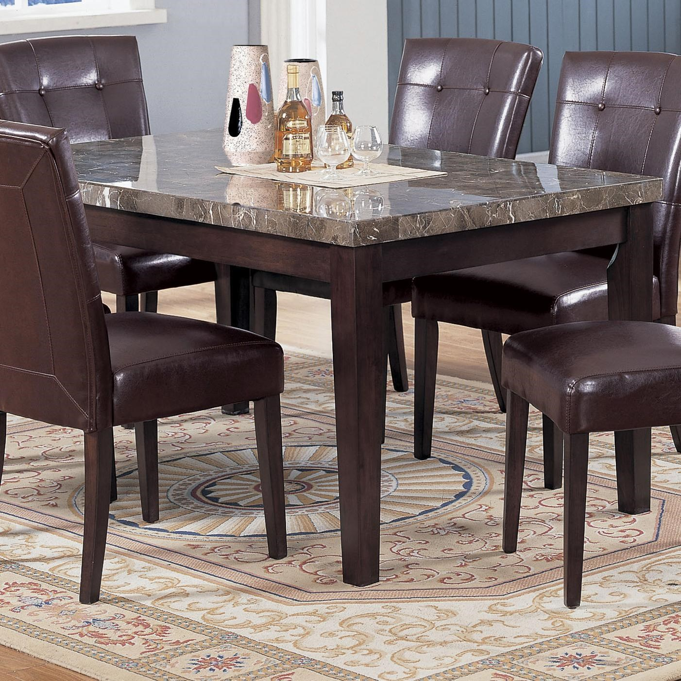 acme furniture 7058 07058 rectangular dining table with black marble rh nassaufurnitureonline com acme furniture cardiff dining table acme furniture kaelyn dining table