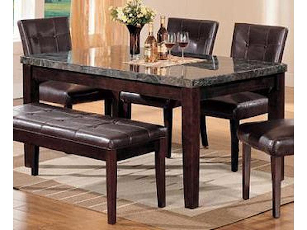 Acme Furniture CanvilleDining Leg Table