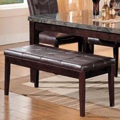 Acme Furniture CanvilleBicast Upholstered Bench