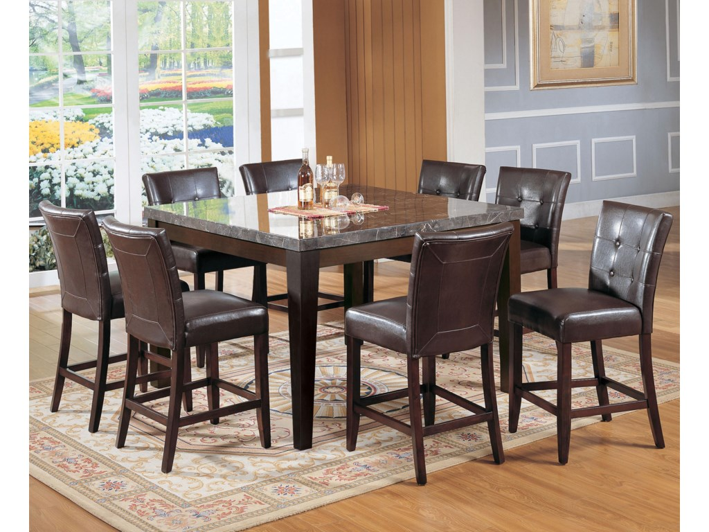 Shown with Coordinating Counter Height Chairs