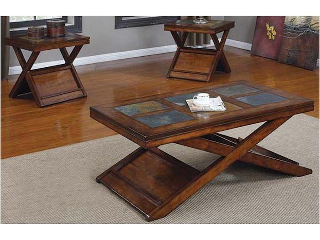 Acme Furniture Benicia3 Piece Table Set
