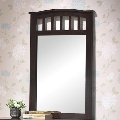 Acme Furniture San Marino Slatted Dresser Mirror