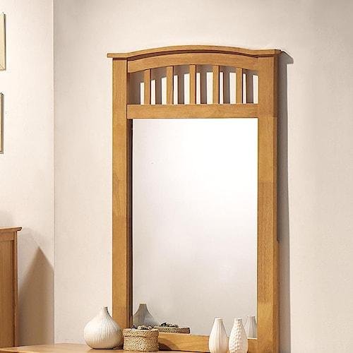 Acme Furniture San Marino Slatted Dresser Mirror