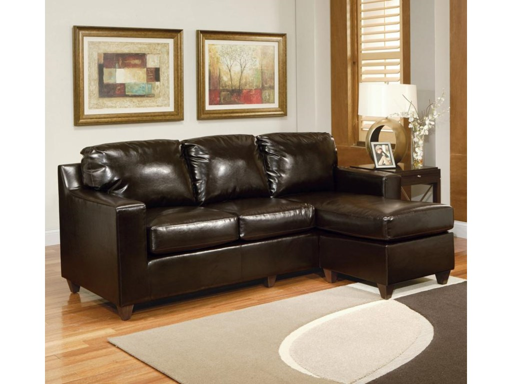Acme Furniture Sectionals 15913 Sectional Sofa With Right Arm Facing