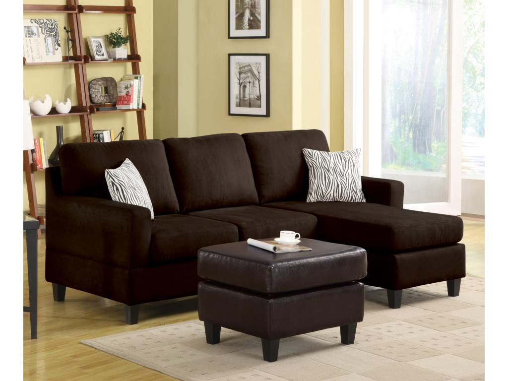 Acme Furniture Sectionals Sectional Sofa With Right Arm Facing
