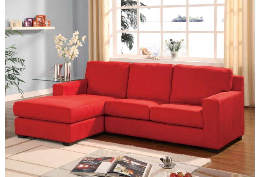 Sectionals 05917a Sectional Sofa