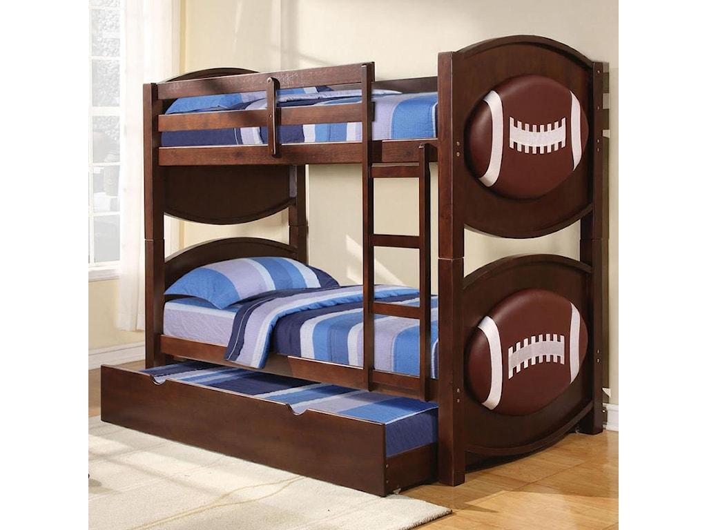 Acme Furniture All StarFootball Bunkbed Décor